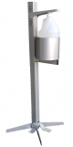 TC Foot Activated Industrial Hand Sanitizer Stand