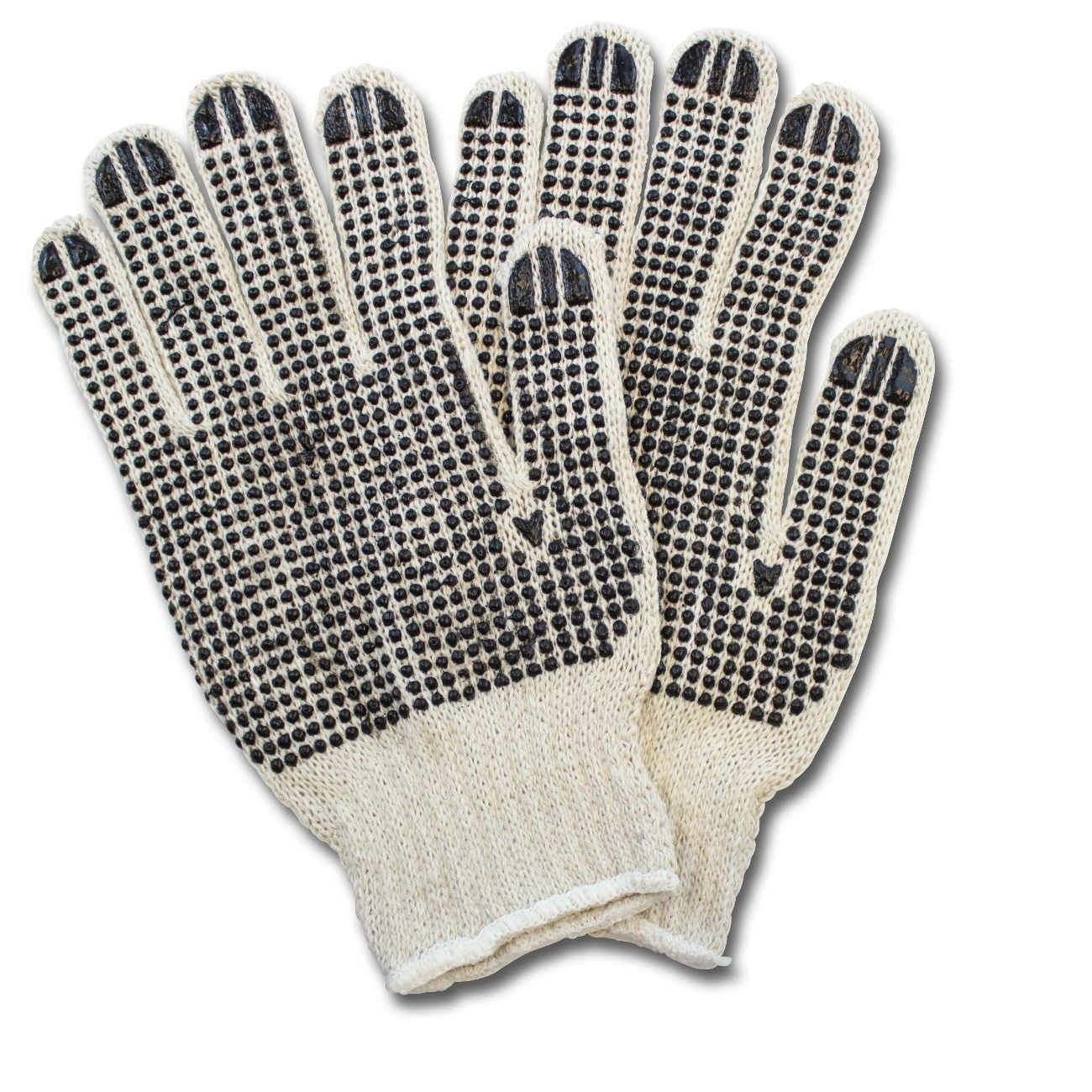 Dotted Knit Gloves