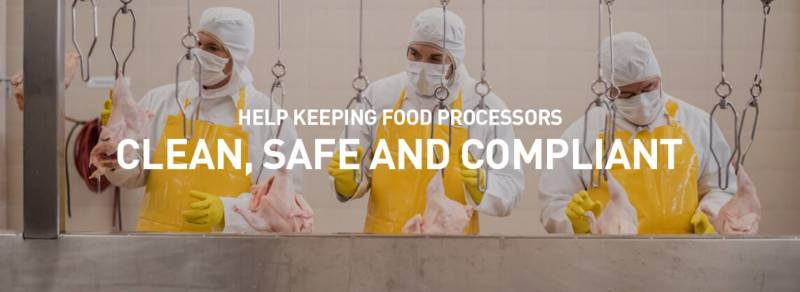 Sanitary Design Makes Cleaning Equipment and Food Processing Hygiene More Effective